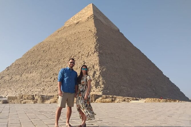 Layover to Pyramids, Sphinx and Egyptian Museum With Camel Ride at Sahara Desert