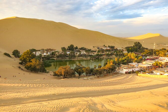 Ica City Tour, Huacachina Lake, Museum of Ica and Visit to Chocolate Factory
