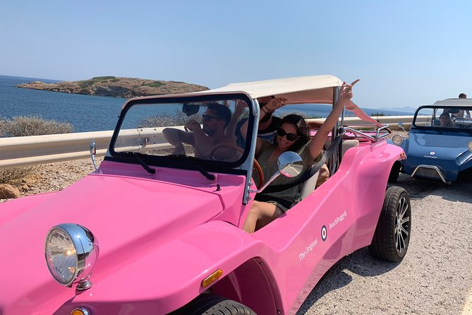 Buggy Tour in Ancient Ruins and Temples around Athens-SOUNIO Poseidon Temple