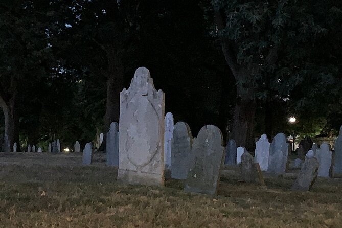 The Ghosts of Boston's Past Haunted Self-guided Tour