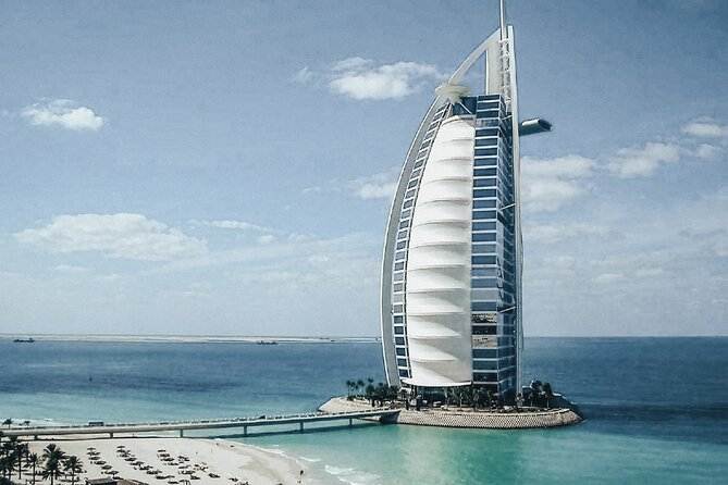 Private Dubai Car Tour with Burj Al Arab, Dubai Museum, Abra Ride and Souqs