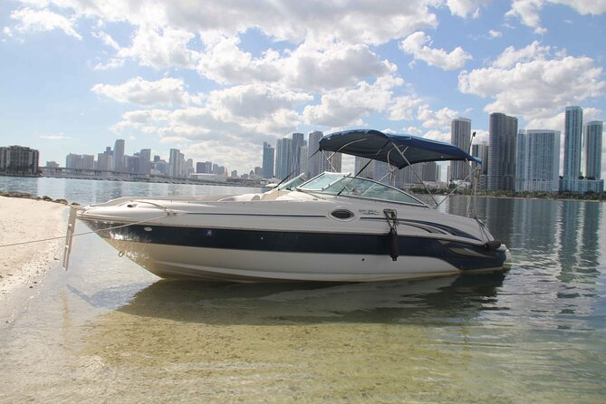 Private Half-Day Sea Ray Boat Rental On Key Biscayne
