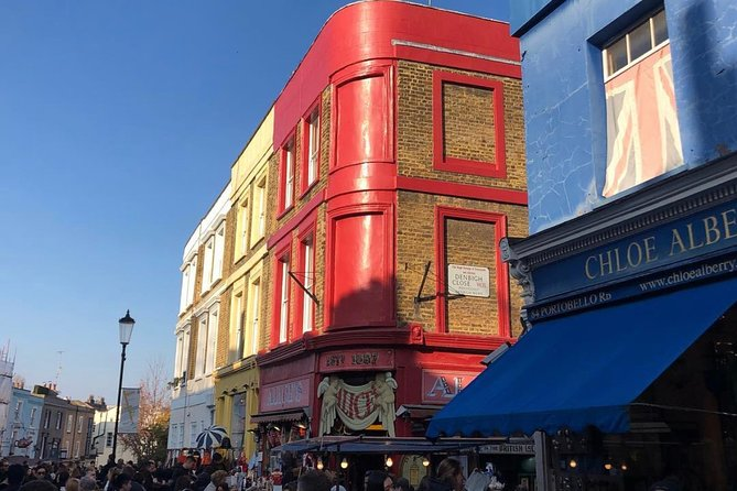 Walking tour of Notting Hill , Rock Stars and Film locations