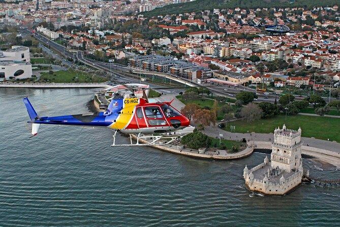 Lisbon Private Helicopter Tour: Fly over the Belém Historic Quarter
