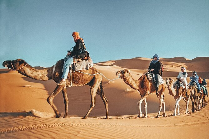 Dubai Tour to Abu Dhabi w/ Camel Ride, Dunes, Heritage Village, Tattoo & Palace
