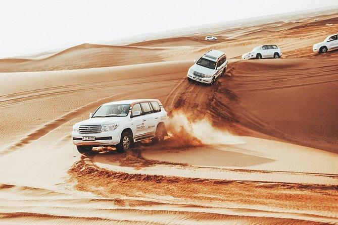 Private Dubai Safari Tour to Red Dunes Desert w/ Camel Ride & Belly Dancing Show