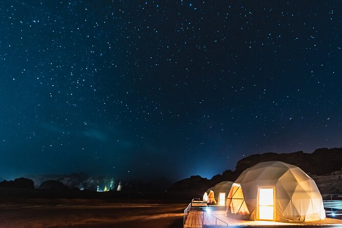 Private Martian Wadi Rum Overnight Bedouin Experience from Amman