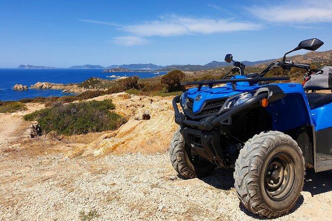 Cagliari Shore Excursion: Quad-ATV Adventure Experience