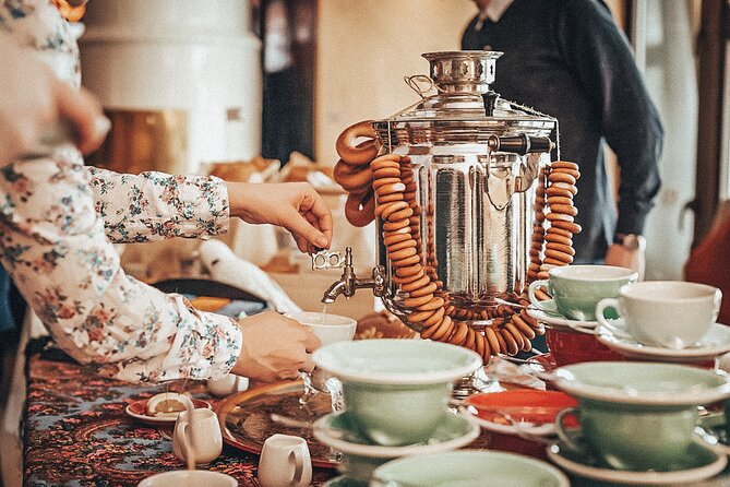 Traditional Russian Samovar Tea Ceremony with Private Local Guide