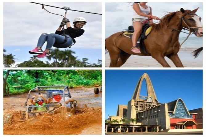Adventure Tour Full day. zip line/Dune buggy/Horseback Riding/culture tour