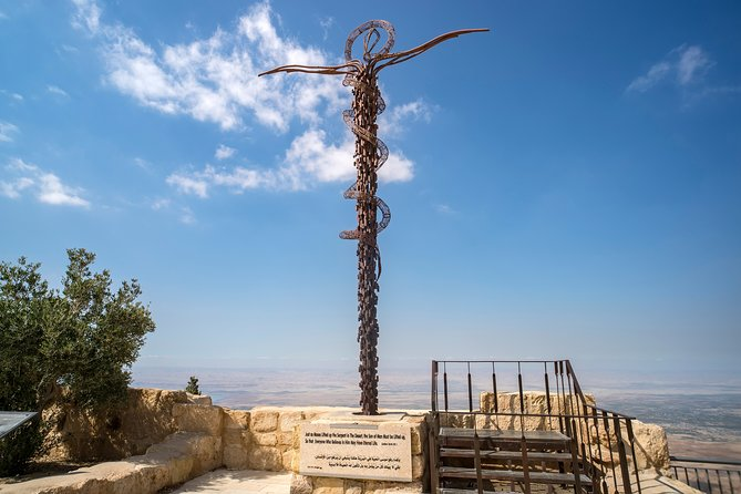 Private Full Day Tour to Jerash, Madaba, and Mount Nebo from Dead Sea