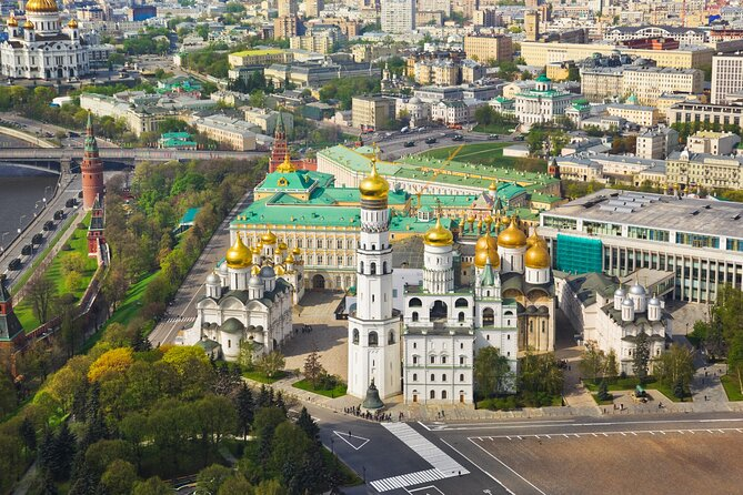 2-Day Moscow City Tour with Space Museum and Bunker-42 Visit
