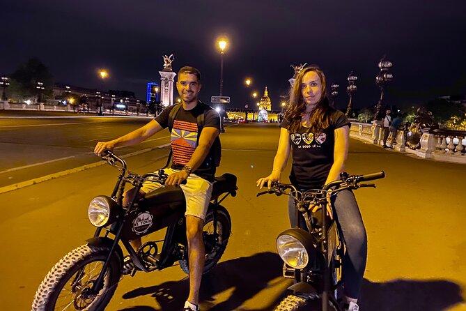 Night Tour of Paris in Electric Bike