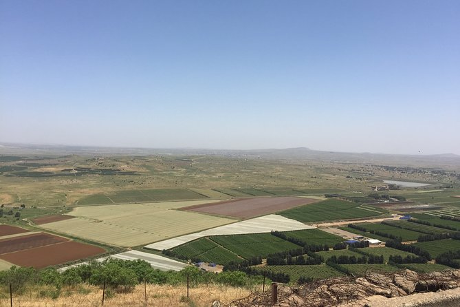 Golan Heights Private Tour From Tel Aviv or Jerusalem