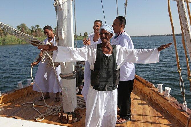 Enjoy Amaziing Sailing Nile cruise from Aswan for 1 night