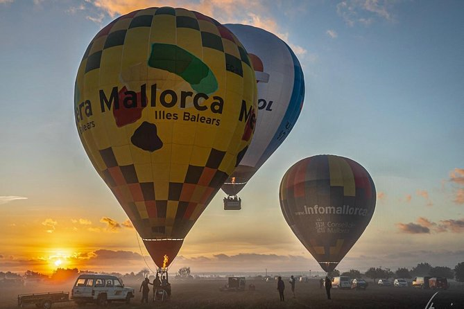 Private Exclusive Ballooning Experience for 4 over Mallorca