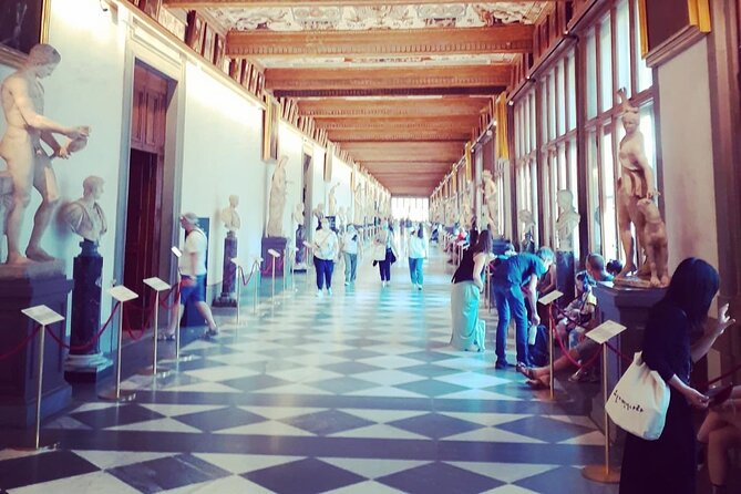 UFFIZI GALLERY and typical food