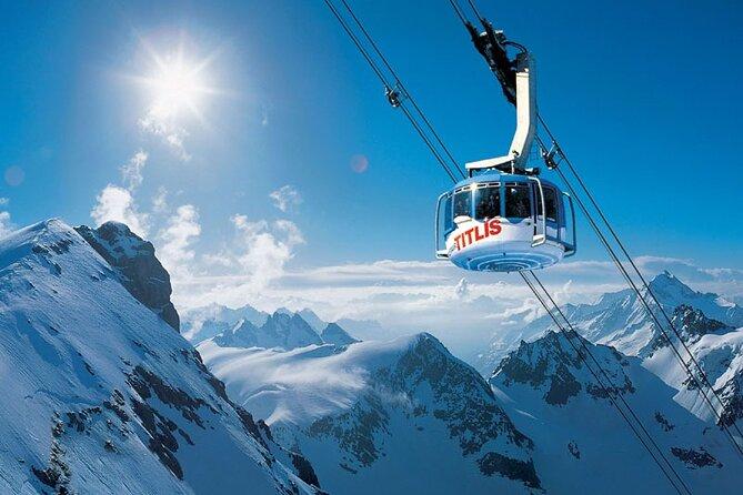 Self-Guided Tour: Mount Titlis Glacier Excursion plus Ice Flyer