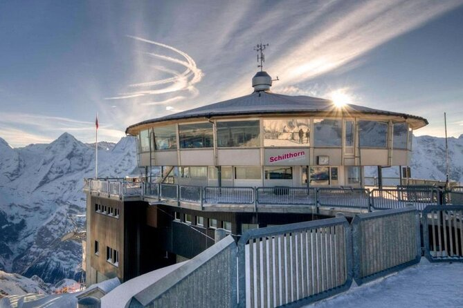 Self-Guided Tour: Schilthorn Piz Gloria (James Bond Film Location) Swiss Skyline