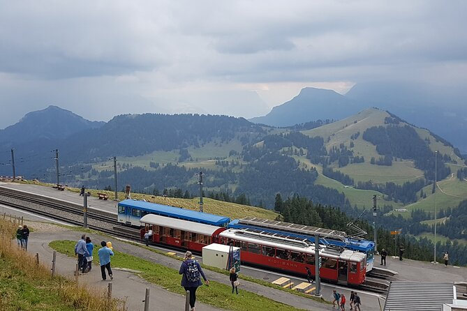 Self-Guided Tour: Mount Rigi Round Trip with Cruise on Lake Lucerne