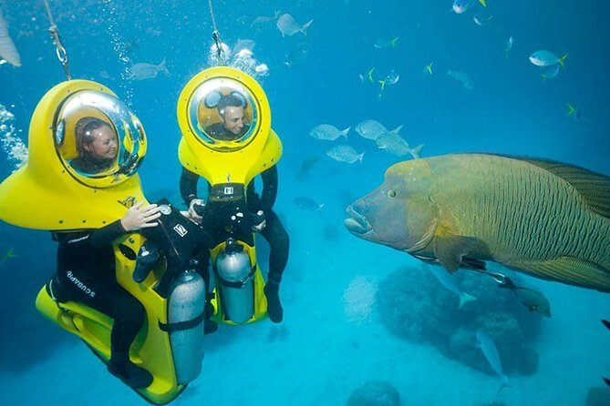 Punta Cana Experience: Scuba Diving, Scooter, Panoramic Glass Boat and Snorkel