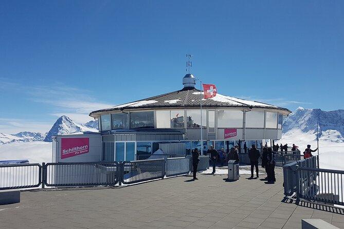 Self-Guided Tour: Schilthorn Piz Gloria (James Bond world) from Interlaken