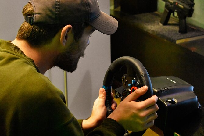 Private Racecar Driving Simulator in Thrillzone Queenstown