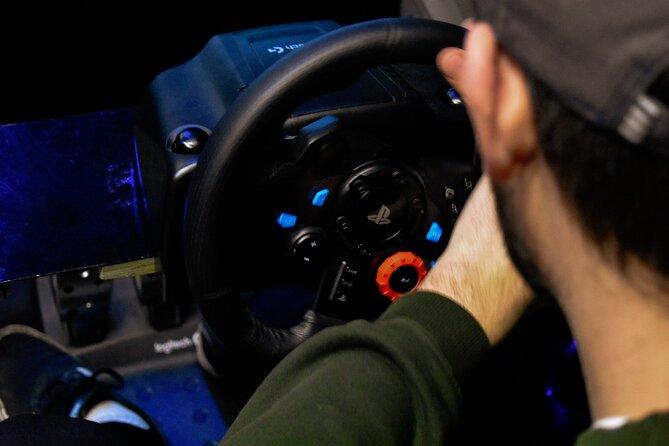 Private Racecar Driving Simulator in Thrillzone Queenstown