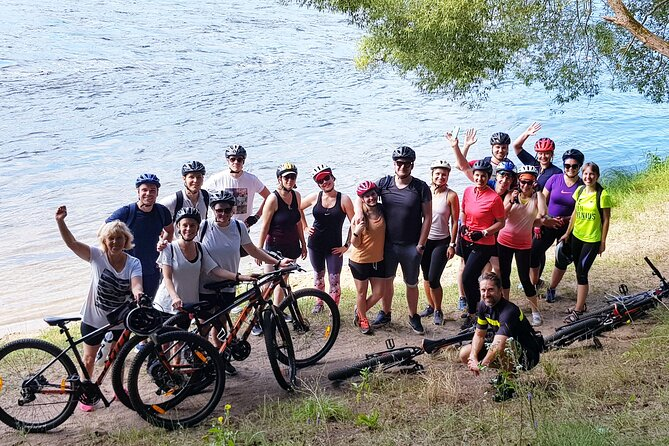 Bike Tour to Pavilniai regional park with mountain bikes
