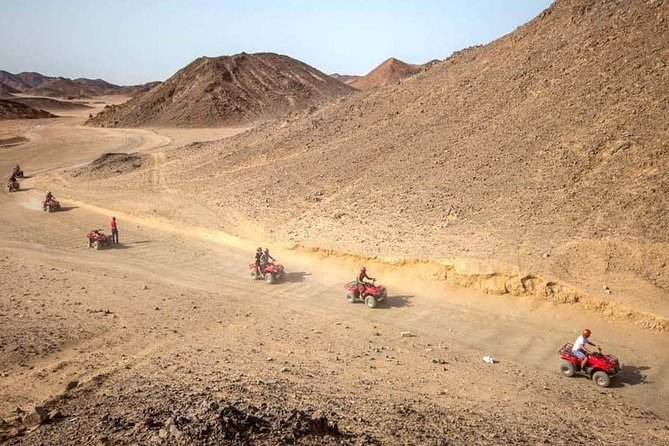 Sunset Desert Safari Trip by Quad Bike in Egypt