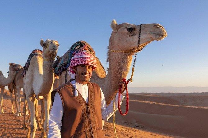 Morning Desert Safari, 25-Minutes Quad Bike & 20-Minutes Camel Ride