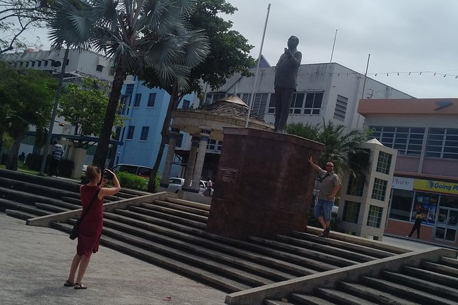 A Guided Walking Tour of a History of a City - Bridgetown