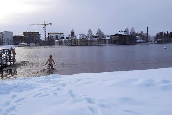Ice swimming and Gentle Sauna Experience in Oulu