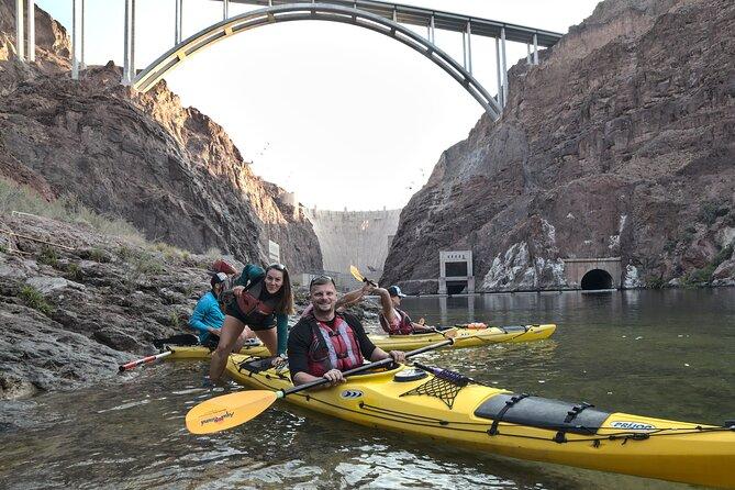 Kayak Hoover Dam