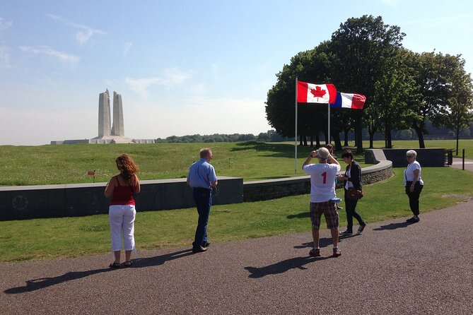 Vimy Ridge Private Day Trip with Hotel Pick-Up from Paris