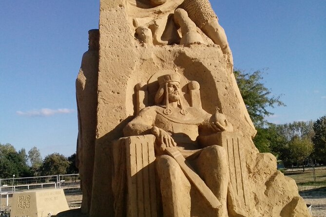 Self-Guided Sand Festival in Burgas