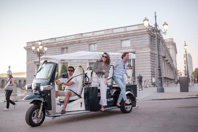 Tour in electric tuk-tuk through Historic Madrid