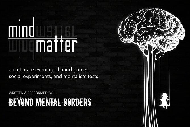 Ticket for MIND|MATTER mentalism/magic show