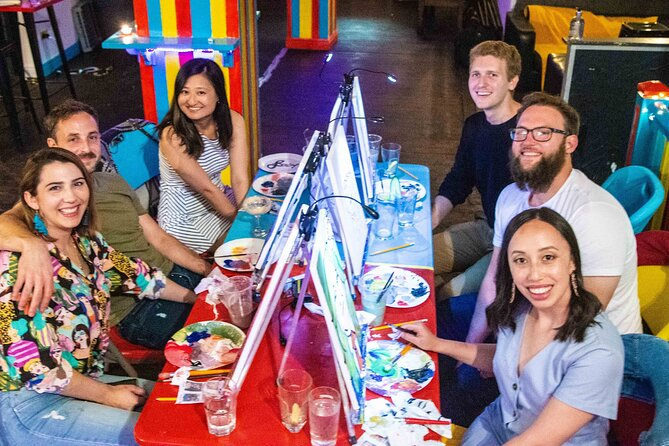 Drink & Draw: Paint A Masterpiece While Enjoying A Drink