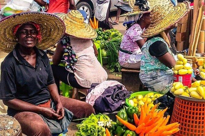Biggest local market in Accra Ghana