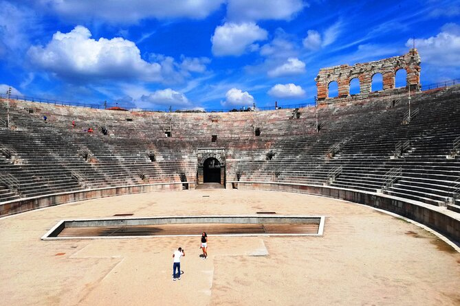 The Arena di Verona at the gladiators' time