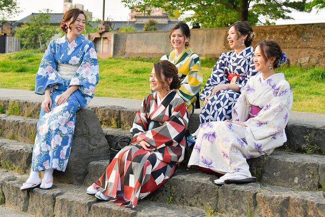 Kanazawa kimono walking plan
