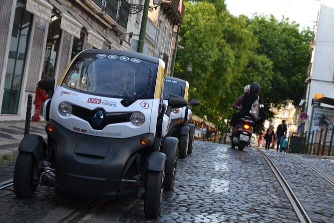 Lisbon Freedom: Self-Drive Private City Tour in E-Cars