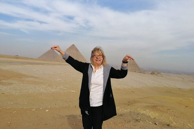 full-day Giza pyramids , sphinx and governmental shopping papyrus & lotus flower