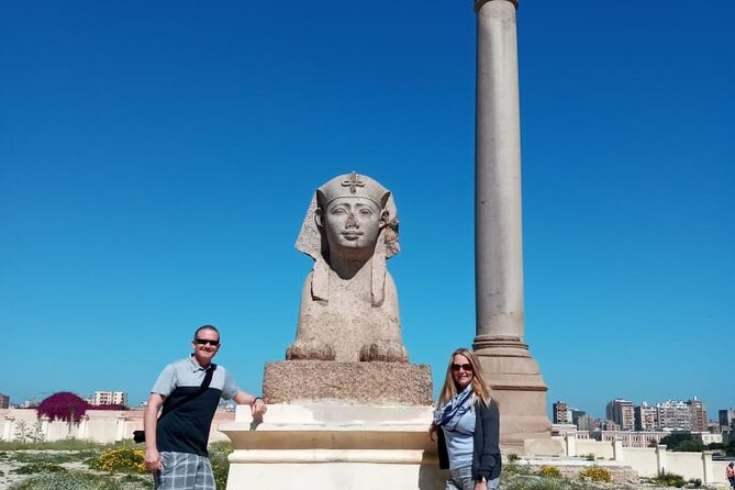 Alexandria day tour and old Greek Roman city private tour from cairo giza hotels