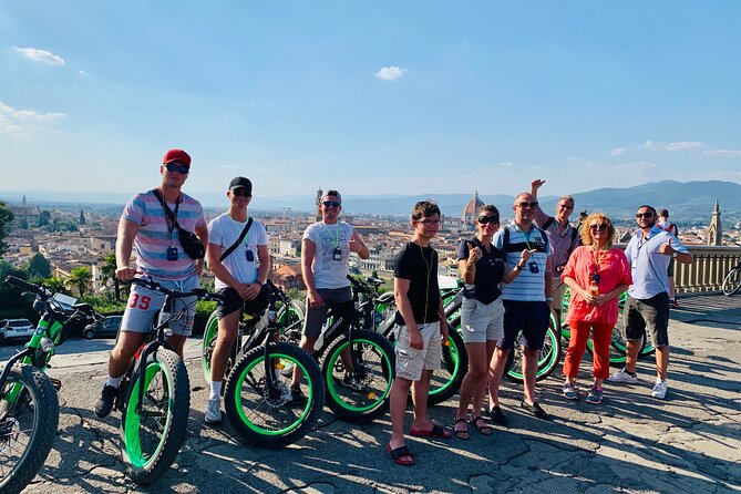 Electric Bike Guided Tour in Florence