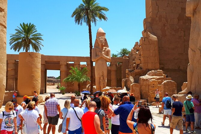 8 Hours Tour to see East and West Banks of Luxor with Lunch and Guide...