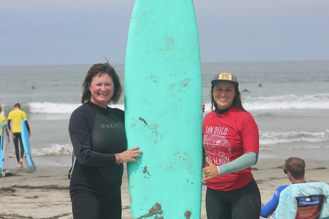1 Day Adult Surf Retreat in San Diego