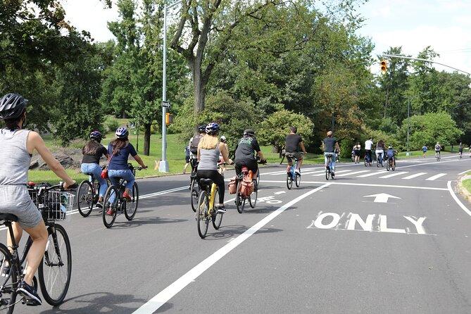 Central Park Bike Tour in Spanish