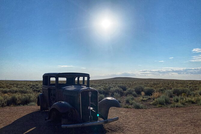 VIP Private Tour of Petrified NP, Walnut Canyon NM, Route 66, Meteor Crater